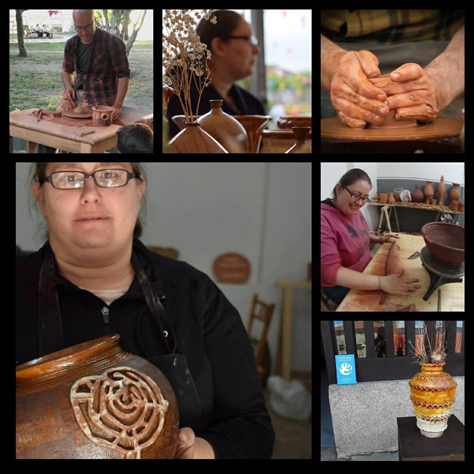 Estudio-obradoiro de cerámica Alén das olas