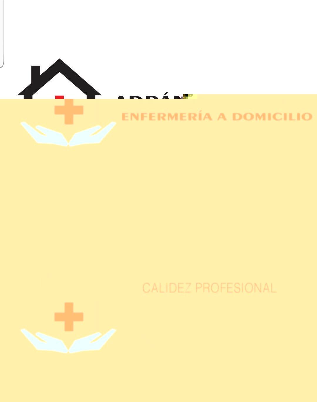 ADRÁN VALLEDOR ENFERMERÍA A DOMICILIO